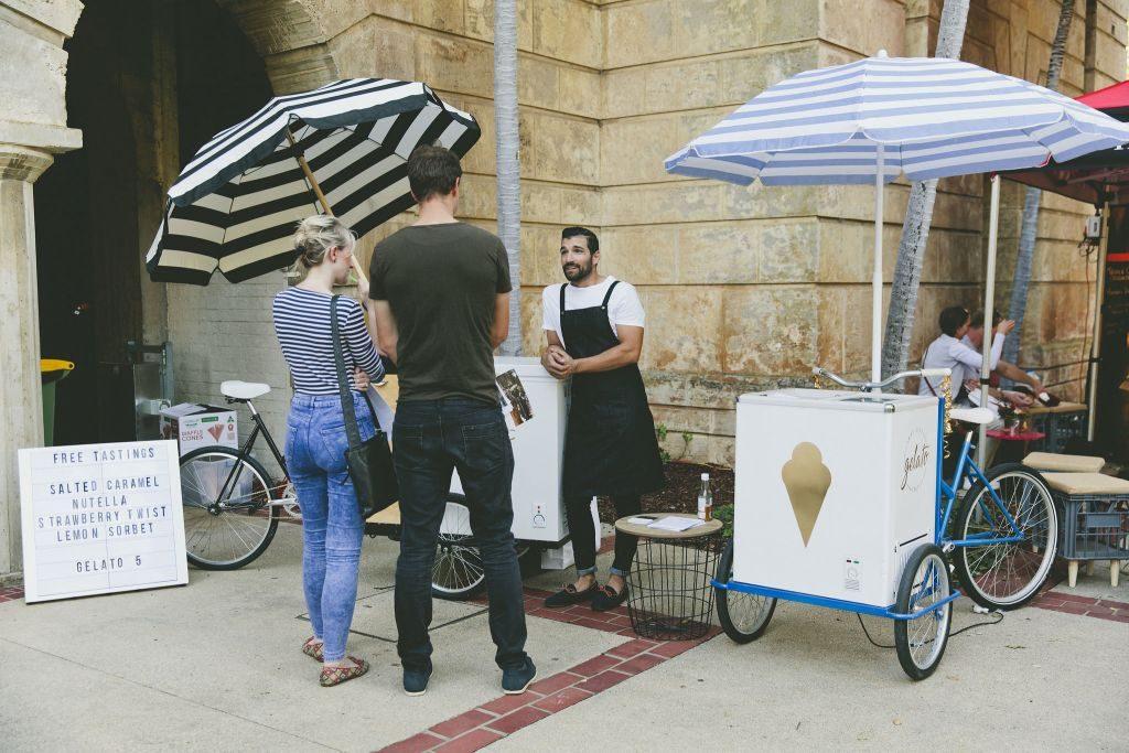 That little gelato cart