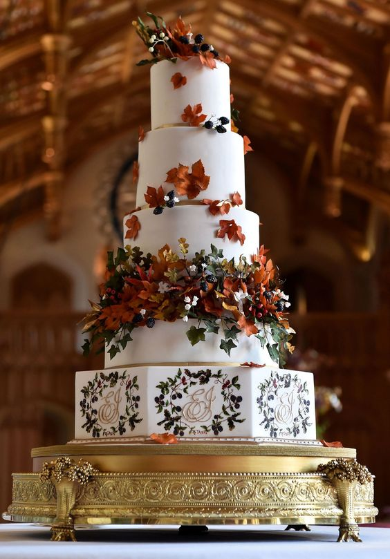 Princess Eugenie and Jack Brooksbank's wedding cake