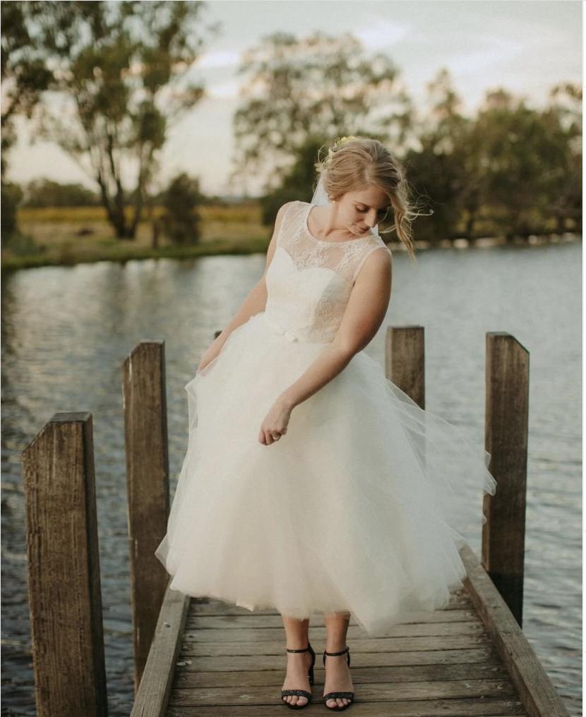 Elvi Design Wedding Dress