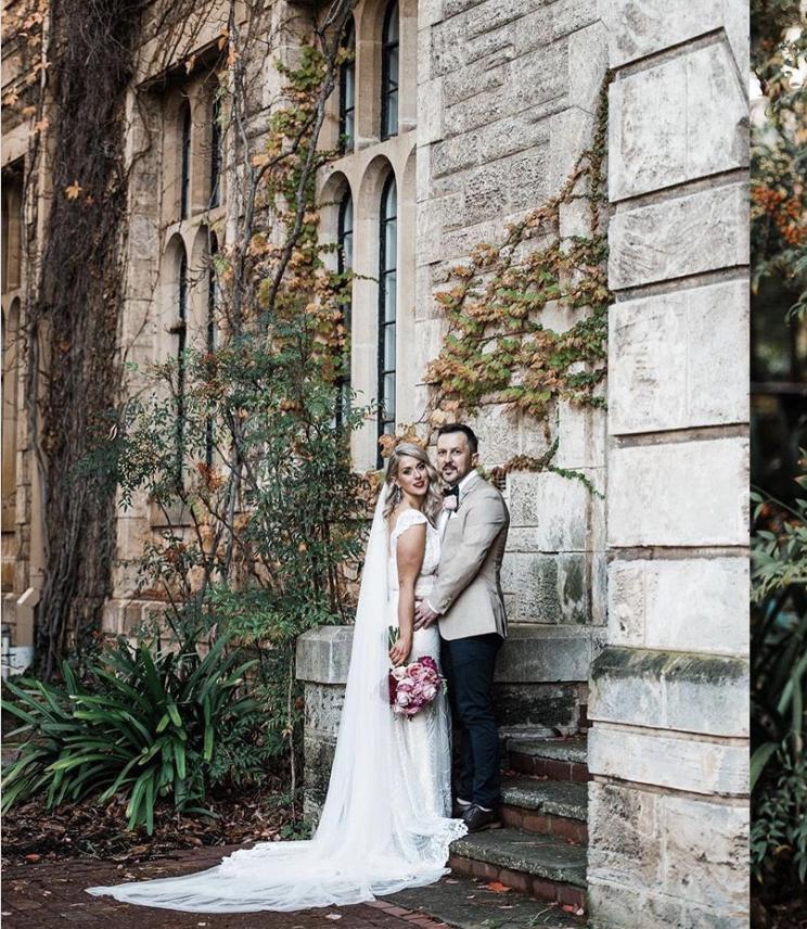 Wedding couple at UWA