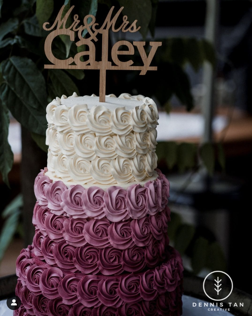 Gluten free wedding cake Perth