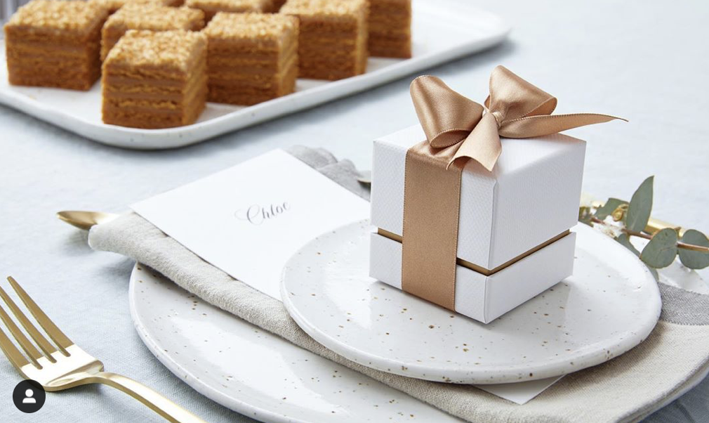 The Honeycake - Wedding Cake